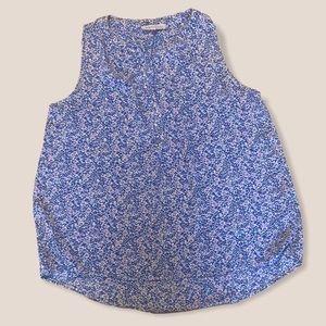 PHILOSOPHY floral print top blouse medium